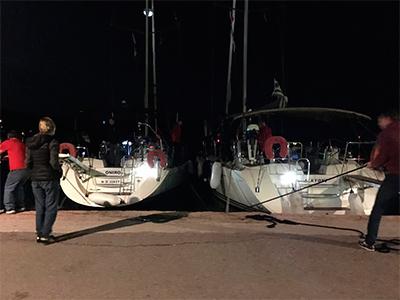 Отчет по плавпрактике яхтенной школы Центра Морского Права в  марина Астакос